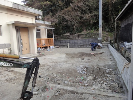 S邸リフォーム~外構工事中