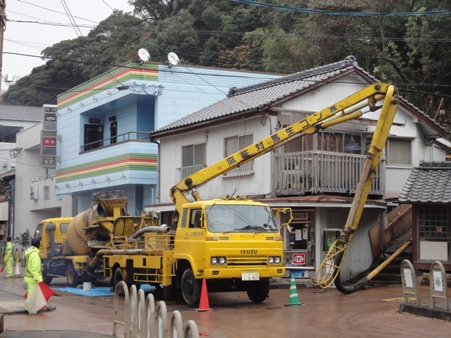 K屋邸増築~基礎コンクリート打設