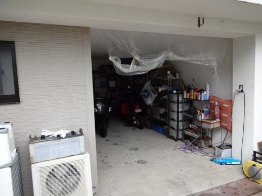 Y邸 車庫ドア作製