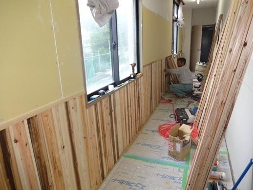 某施設壁改修~内装下地