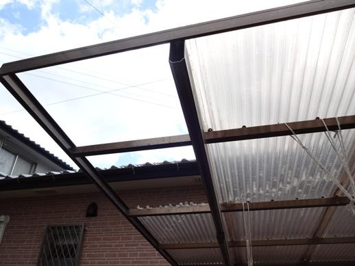 台風被害の補修~N邸