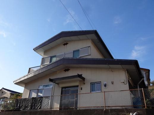 S邸台風被害補修工事 ~完了
