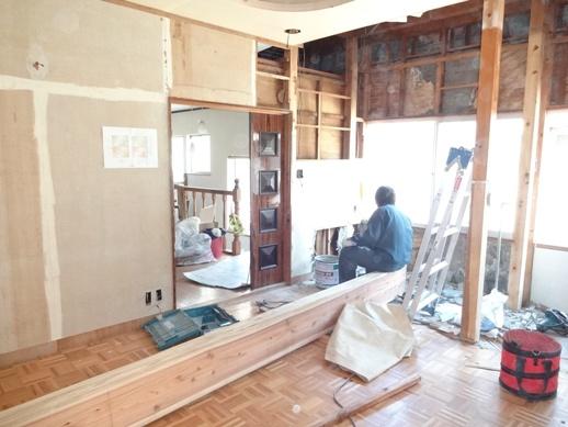 Y邸2階リフォーム工事
