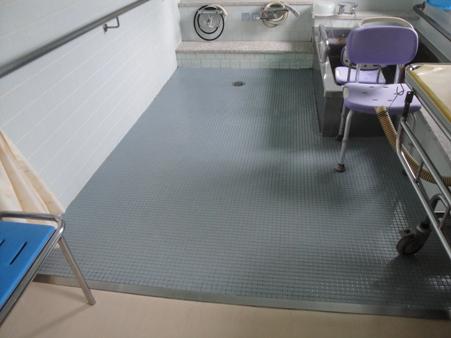 某施設浴室床改修