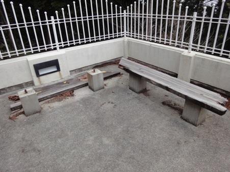 ベンチの修繕~完了