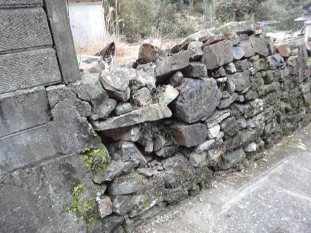 石垣の修繕見積もり