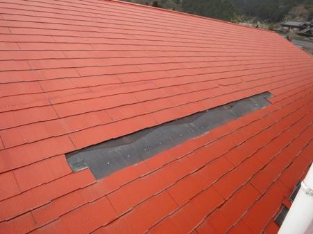 屋根コロニアル補修