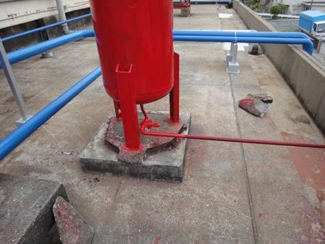 機械基礎コンクリート補強補修