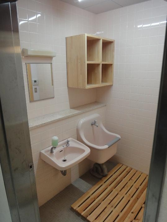 某施設内 シャワー室工事~完了