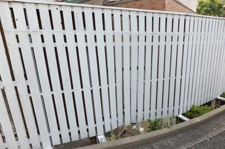 T邸板塀補修