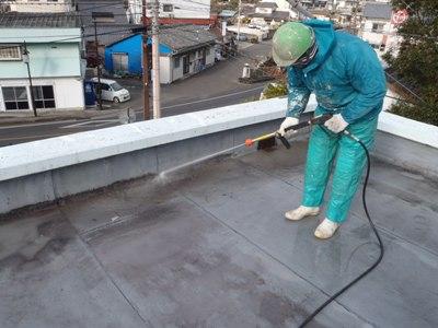 某施設屋根防水補修~完了