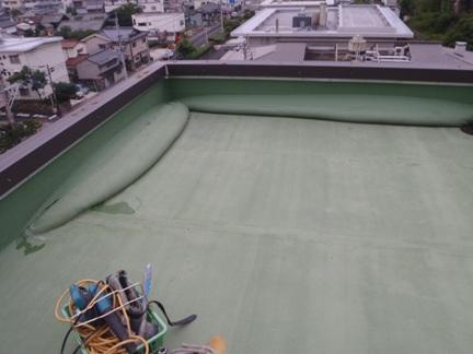 某施設 シート防水修繕