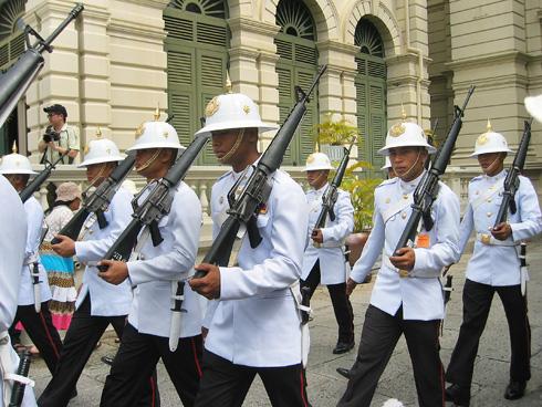 タイ王宮兵隊