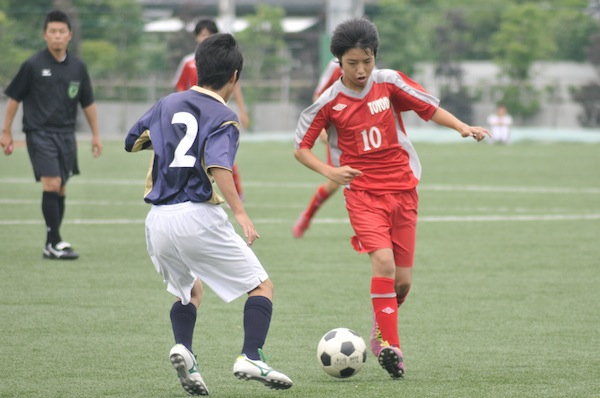中体連 2日目 第一試合。