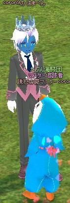 肌の色 雪の王冠 パートナー 青い