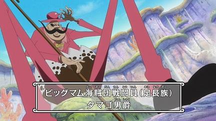 強さ38位 タマゴ男爵【ビッグマム海賊団】
